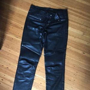 Zara Pants - Zara NWOT leather pants